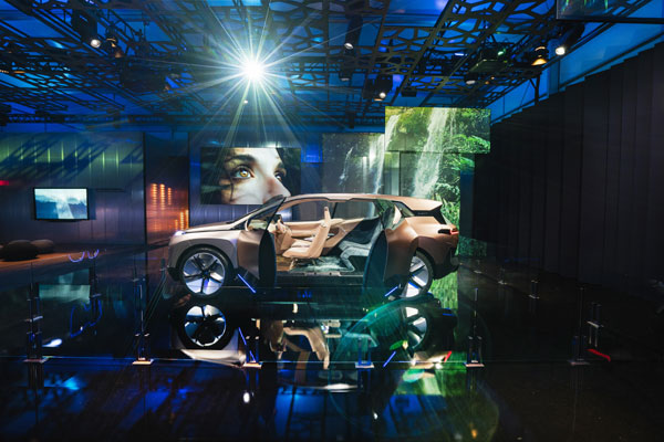 BMW Group, CES 2019, BMW Vision iNEXT