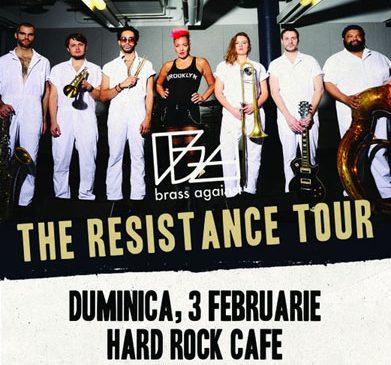 Concert Brass Against in Hard Rock Cafe