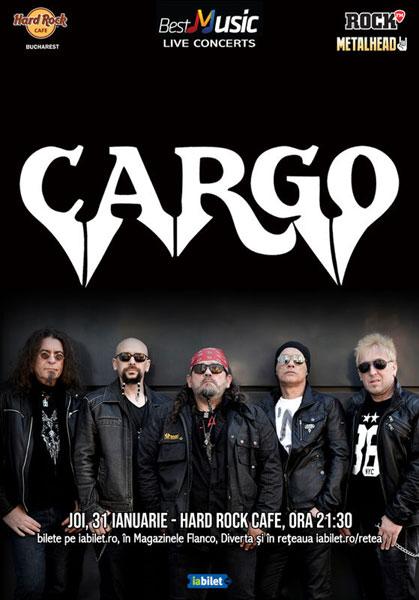 Concert Cargo 31 ianuarie