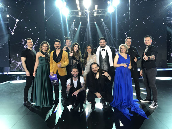 Eurovision, Castigatori semifinala Iasi