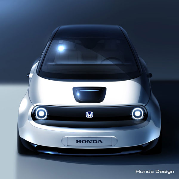 Hondas new electric vehicle prototype