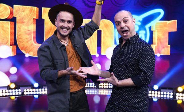 """Dan Badea prezintă cel de-al șaselea sezon """"iUmor"""", alături de Șerban Copoț"""