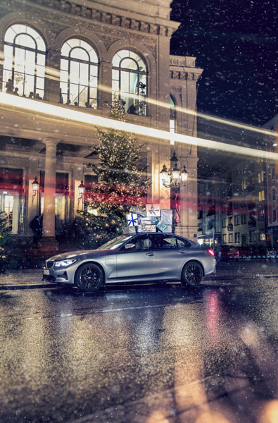 The BMW 330e Sedan