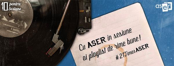 Vizual 10 pentru Sesiune ASER