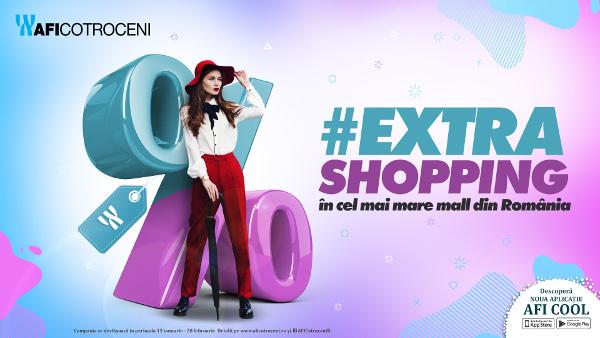 #EXTRASHOPPING în cel mai mare mall din România
