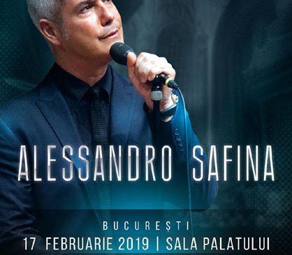 "Alessandro Safina revine în România cu un concert special de Valentine's Day: ""Canzoni D'Amore"""