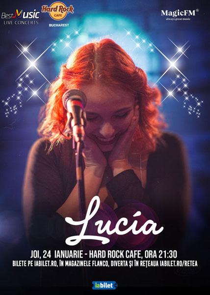 afis concert Lucia