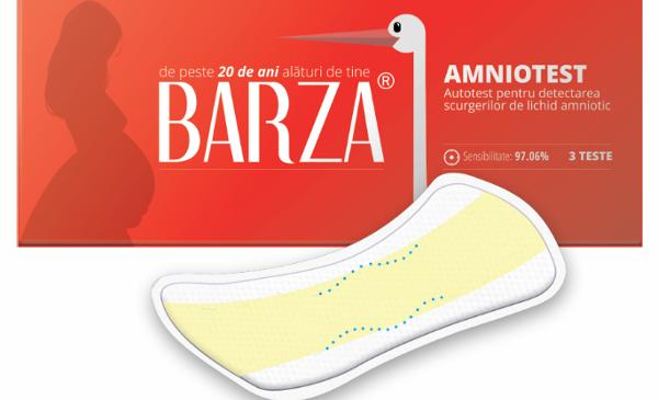 BARZA lansează Amniotest – autotest pentru detectarea scurgerilor de lichid amniotic