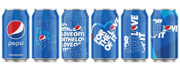 campanie Pepsi, FOR THE LOVE OF IT