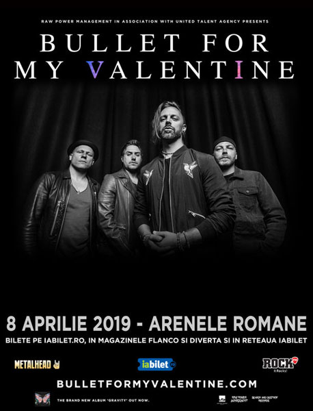 concert Bullet For My Valentine 8 aprilie