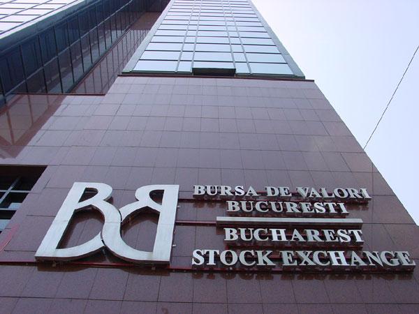 fatada Bursei de Valori Bucuresti