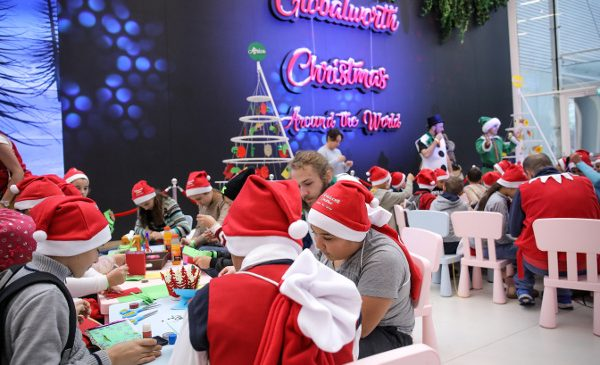 900 de copii din fundații din România au descoperit Crăciunul în jurul lumii la Globalworth Christmas Charity Days