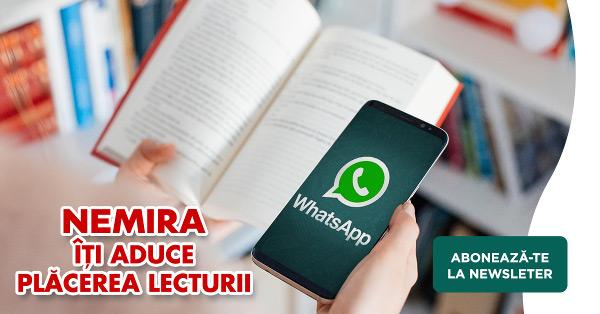 Nemira newsletter săptămânal pe WhatsApp