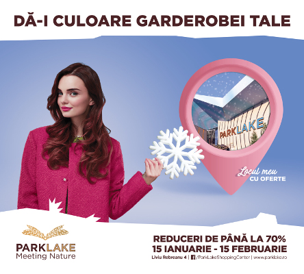 ParkLake Shopping Center winter sales