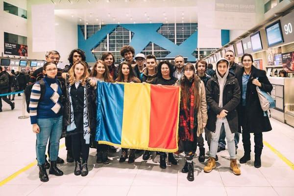 Robotiștii români la Paris