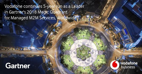 Vodafone, lider mondial pentru serviciile Machine-to-Machine pentru al cincilea an consecutiv