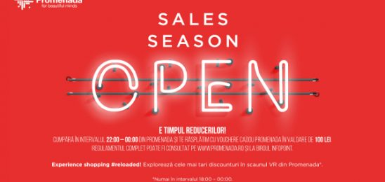 Hervis și Stefanel anunță reduceri de până la 70% la Winter Sales Shopping Night la Promenada
