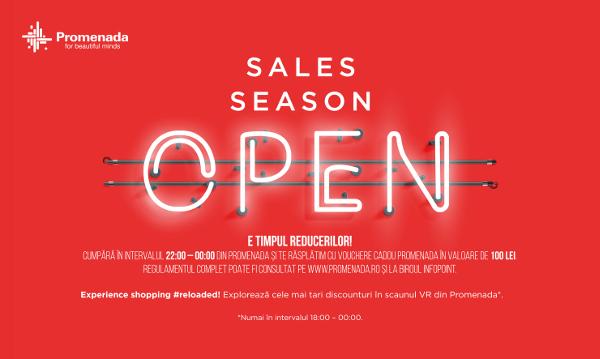 Winter Sales Shopping Night la Promenada