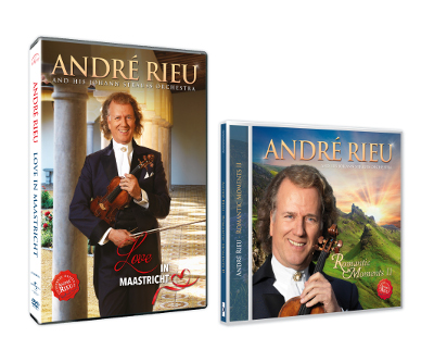 "André Rieu ""Love in Maastricht"" și ""Romantic Moments II"""
