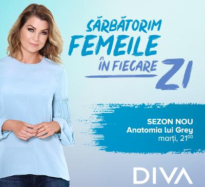 Alexandra Ungureanu este imaginea și vocea campaniei DIVA Sărbătorim femeile în fiecare zi