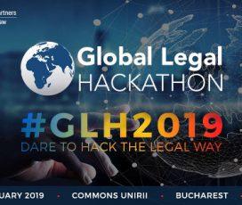 România participă la cel mai mare hackathon pe teme juridice din lume GLOBAL LEGAL HACKATHON ROMANIA