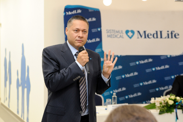 Mihai Marcu, Președinte și CEO MedLife Group