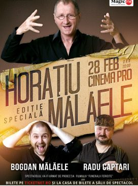 """Horațiu șiBogdan Mălăele fac haz de necaz în spectacolul """"Ediție specială"""", de la Cinema PRO"""