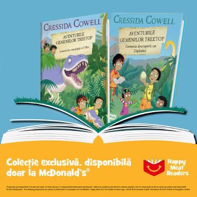 McDonald's - Aventurile Gemenilor Treetop de Cressida Cowell