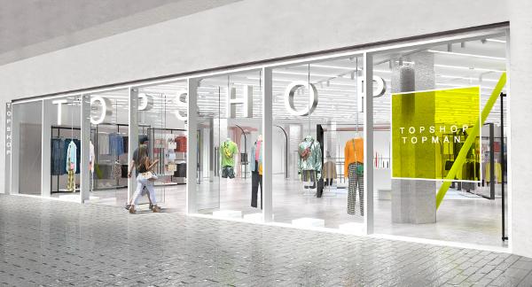 Topshop Topman anunță lansarea primului magazin din România