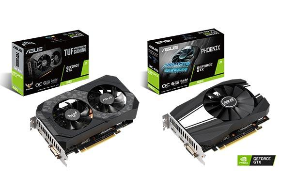 Asus TUF Gaming și Phoenix GeForce GTX 1660