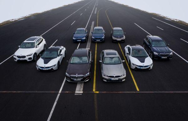 BMW masini electrificate