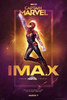Captain Marvel imax
