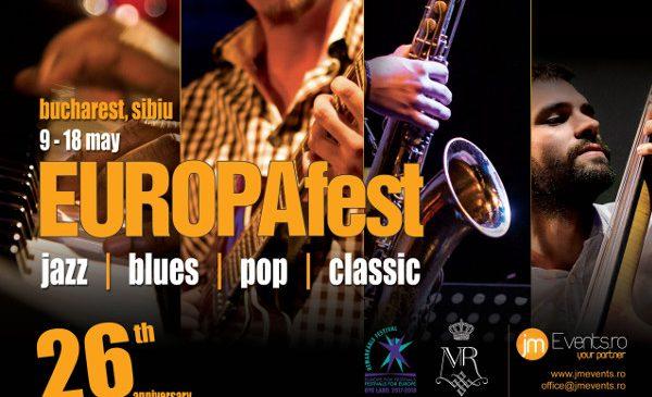 EUROPAfest 26 debutează pe 9 mai