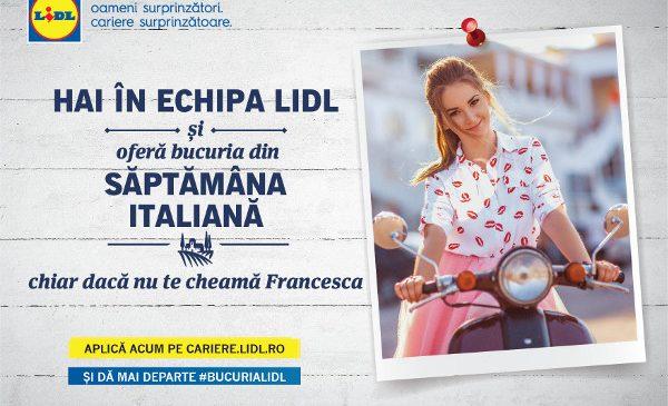 Lidl lansează o nouă campanie de brand de angajator: Dă mai departe bucuria Lidl!