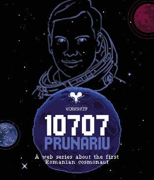 Animation Worksheep a lansat o docu-serie animată despre Dumitru Prunariu, singurul astronaut român