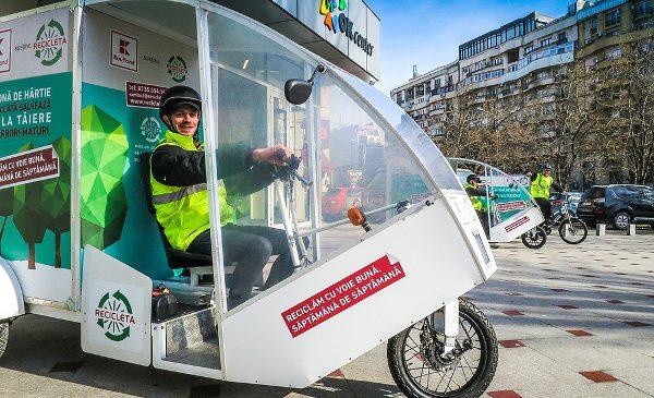 Bucureștenii din sectorul 2 au reciclat 65.000 kilograme de hârtie în 2018