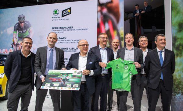 ŠKODA prelungește până în 2023 acordul de sponsorizare cu organizatorul Tour de France A.S.O.
