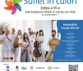 SUFLET ÎN CULORI – ediția a-VI-a: Concert caritabil în beneficiul copiilor cu autism