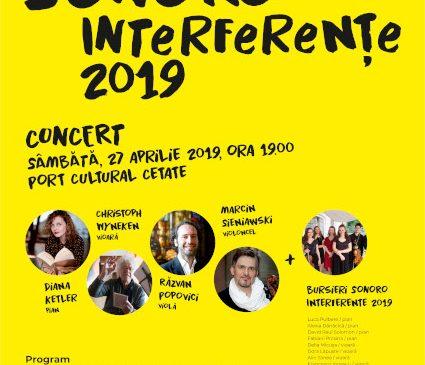 Bursierii SoNoRo Interferențe 2019 îți dau întâlnire la Port Cultural Cetate