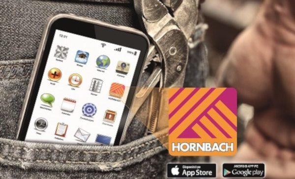 HORNBACH și-a lansat noua aplicație pentru mobil