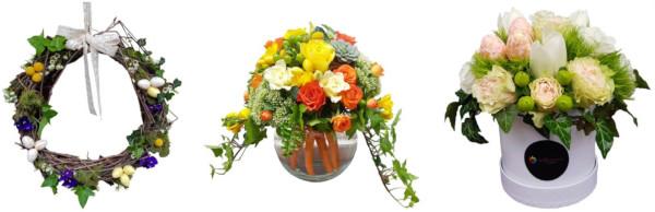 Aranjamente florale de Paste