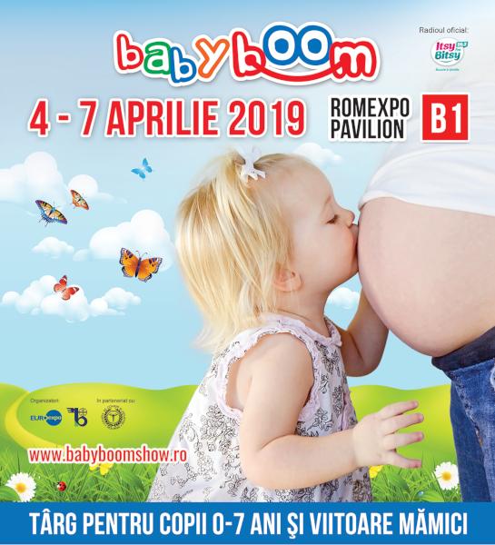 Baby Boom Show aprilie 2019