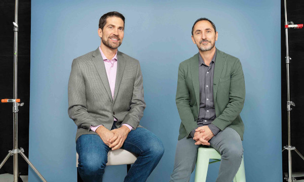 Brian Whipple (left), global CEO, Accenture Interactive and David Droga (right), founder & creative chairman, Droga5