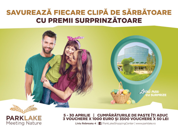 Campanie Paste 2019 la ParkLake
