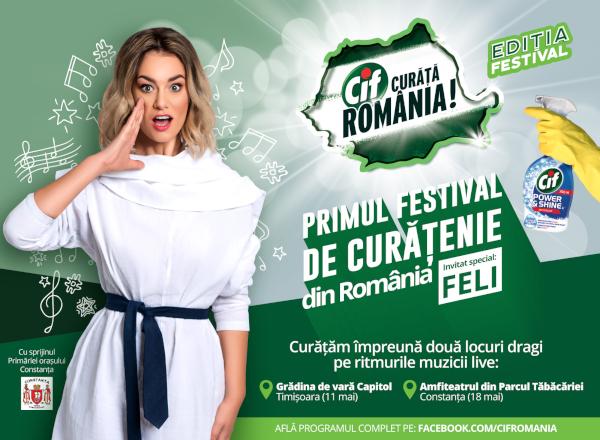 Cif Curata Romania, Editia Festival