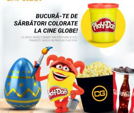 Cine Globe România a pregătit surprize colorate în perioada sărbătorilor pentru clienții săi