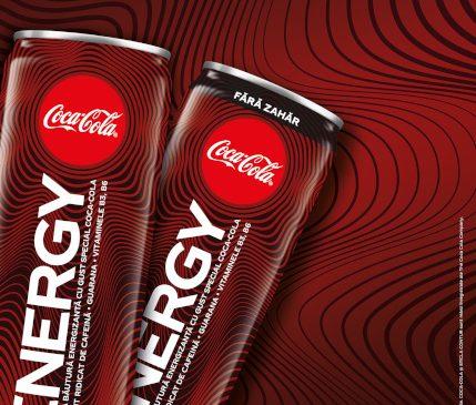 Coca-Cola România anunță lansarea Coca-Cola Energy