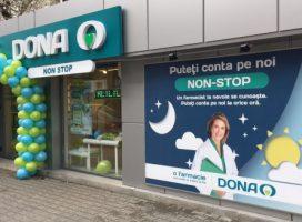 19 Farmacii DONA vor funcționa cu program non-stop de Paști și de 1 mai