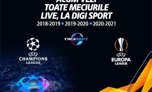 Champions League & Europa League la Digi Sport