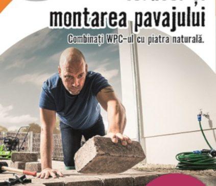 Construirea terasei și montajul pavajului – tema lunii aprilie la HORNBACH